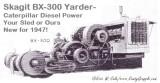 1947 Skagit BX300 Slackline Yarder