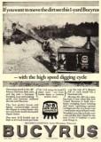 1927 Bucyrus Ad 31-B Shovel
