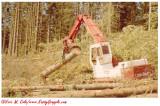 Link-Belt LS3400 at Bighorn Log, 1988