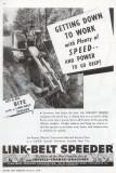 1945 Link-Belt Ad  Backhoe Front