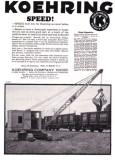 1927 Koehring Ad 'Clamshell Crane'