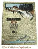 1927 Koehring K501 Brochure Cover