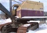 Bucyrus-Erie 30-B Highwalker w/Crane