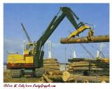 Bucyrus-Erie 65-HL Crawler Log Loader