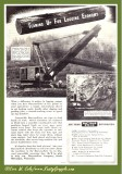 1947 Bucyrus Ad '51-B and 38-B'