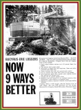 1965 Bucyrus Ad 'The Loggers'