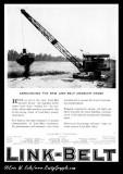 1922 Link-Belt Ad 'Crawler Crane'