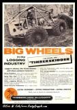 1960 Timberjack Ad Timberskidder 300