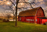 My Grandfathers Barn on Jewett Holmwood.
