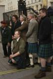 highlanders posing