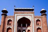 Main entrance gate at the Taj Mahal complex