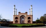 Entrance gate at Akbar's Tomb