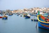 Marsaxlokk fishing village...