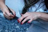 Filigree craftswomanship