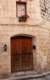 A typical three-hundred-years old Maltese house...