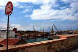Stop over the Marsa shipyards
