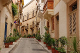 In the narrow streets of Vittoriosa