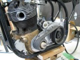 1584 Kubota alternator in place