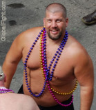 Mardi Gras Hot Men Gay Southern Decadence Bears Fantasy Fest Manly Shirtless Studs