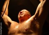 gay men tiedup restrained bondage guys bdsm dungeon leather big belly fantasy photos