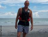Beach Boys Swimming Lake Men Daddy Boating Ocean Guys Showering