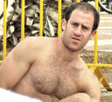 Big Powerlifters Husky Daddies Lifting Weights Muscle Bears Manly Strongmen Hairy Guys