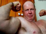 Hot Jocks Boyish Musclemen Wrestlers Silver Foxy Stocky Bearded Wrestling Daddies Photos