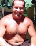 Older Hairychest Musclebear Daddies Beefy Bearish Husky Men Stocky Silverdaddies Photos