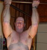 daddy chinups workout garage training weights.jpg
