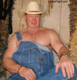 tall hot beefy stocky daddy cowboy wearing overalls.jpeg