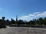 Melbourne City from Shrine of Remembrance