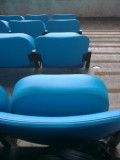The seats are excellent quality at Etihad Stadium, Manchester