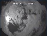 AllSky Camera - Moon Jupiter and Clouds