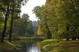 Early Fall at the Royal Lazienki Park in Warsaw, October 2011