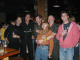 Sally Deibel with classmates at a mini-reunion in 2006