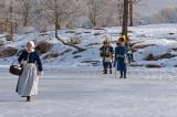På vandring över isen