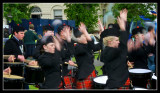 A Blur of Drummers