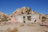 Ruins of old homestead.