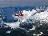 11-09-29 - Air to Air Aerials above the Glaciers and Mountains of the Coastal Range, British Columbia
