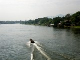 Boat on River Kwai