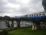 Death Train on Bridge over the River Kwai