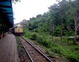 Train on the Death Railway