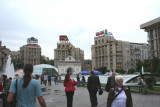 View from Independence Square with the Hotel Kozatsky in the background in the center.