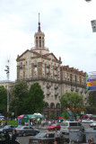 Soviet-era looking building off of Independence Square.