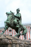 Bogdan Khmelnitsky headed Cossack-peasant uprisings against the oppression of the Polish masses.