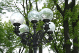 Nice lamp post in the park!