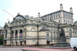 Another view of the Taras Shevchenko Opera and Ballet House.