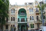 A beautiful building on Volodymyrska Street.