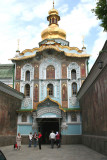 Main entrance called the Golden Gate to the Kiev-Pechersk Lavra (a huge monastery complex).
