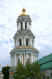 The Great Belfry (1731-44) bell tower of the Pechersk Lavra Monastery.
